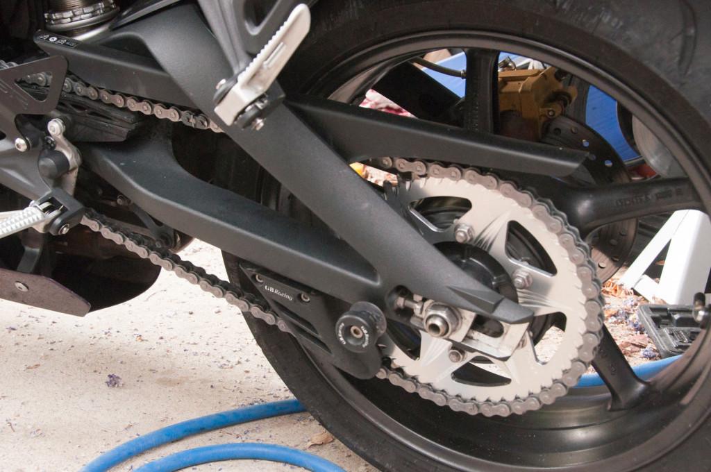 2012 Street Triple: vortex 520 rear alloy sprocket