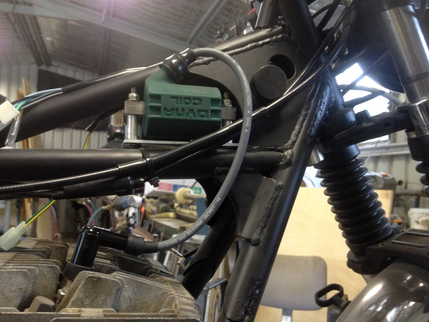 Suzuki Gt250 Electrical Work Tgr Team Ghetto Racing Aprilia Rs250 Wiring Done To The Spark Plugs Leads Just Looks Awesome
